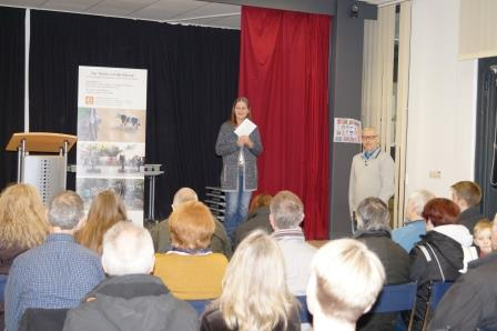 Eröffnung der Veranstaltung durch Sabine Janssen und Uwe Stelter