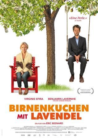 """Filmplakat """"Birnenkuchen mit Lavendel"""""""